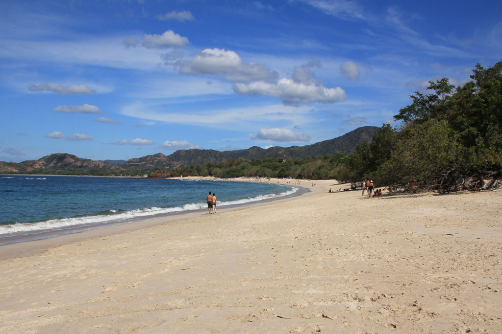 Conchal beach between Flamingo and Tamarindo is one of the country's best beaches
