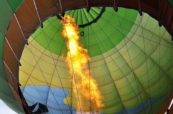 Flyga luftballong